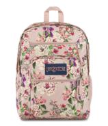 JanSport Big Student Backpack Pink Bouquet