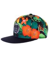 Headster Kids Wild Hibiscus Black Cap