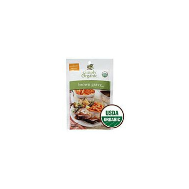 Simply Organic Brown Gravy Seasoning Mix