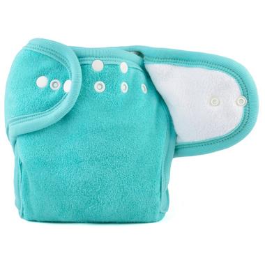 Mother ease One Size Cloth Diaper Aqua