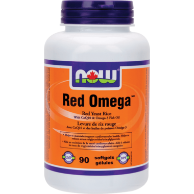 NOW Foods Red Omega Red Yeast Rice With CoQ10 & Fish Oil