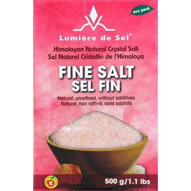 Lumiere de Sel Himalayan Fine Natural Crystal Salt