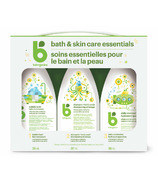 babyganics Bath & Skin Care Essentials Kit Chamomile Verbena
