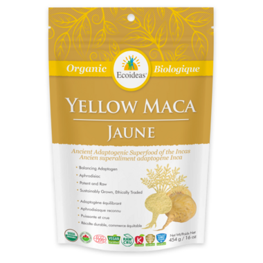 Ecoideas Organic Yellow Maca