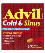 Advil Cold & Sinus Caplets