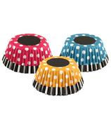 Retro Polka Dot Bake Cups Set