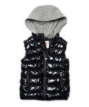 Appaman Apex Puffer Vest Black