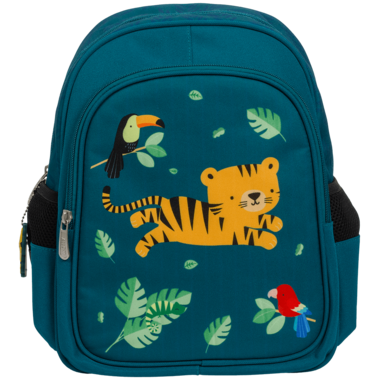 A Little Lovely Company Kid\'s Backpack Jungle Tiger