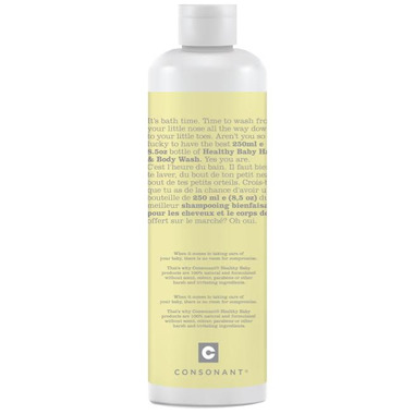 Consonant Healthy Baby Hair & Body Wash
