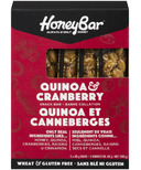 HoneyBar Quinoa & Cranberry Snack Bar