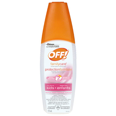 OFF! FamilyCare Insect Repellent Spray for Kids