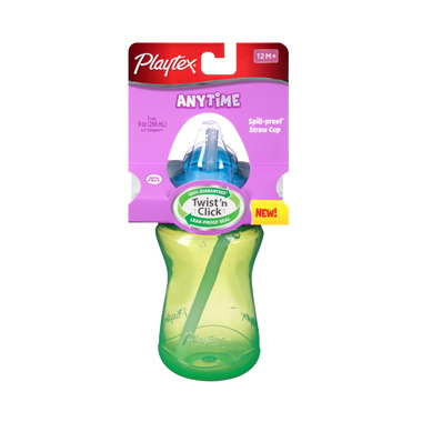 Playtex AnyTime Spill-Proof Straw Cup