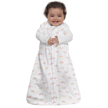 Halo Innovations Sleepsack Wearable Blanket Sunshine Rainbows Cotton