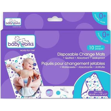Baby Works Disposable Change Mats