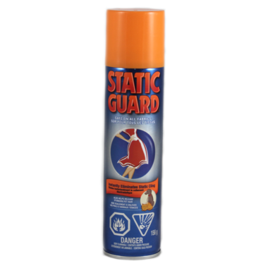 Static Guard Spray