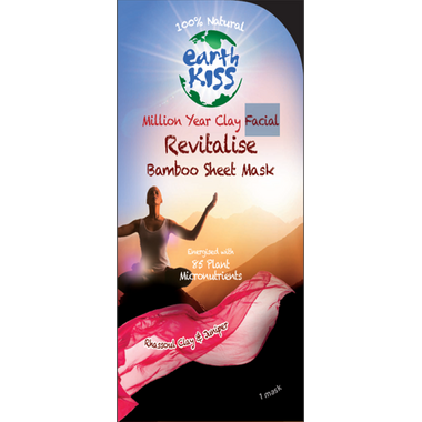 Earth Kiss Miracle Clay Revitalize Facial Mask