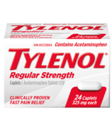 Tylenol Regular Strength Caplets