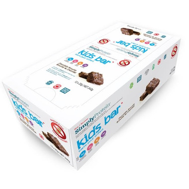 Simply Protein Kids Chocolate Brownie Case