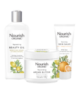 Nourish Organics Dry Skin Repair Bundle
