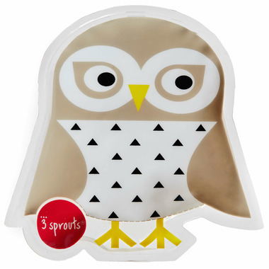3 Sprouts Ice Pack Owl