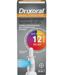 Drixoral Metered Pump Nasal Congestion Solution