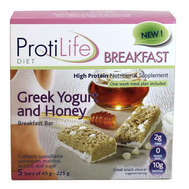 ProtiLife Greek Yogurt & Honey Breakfast Bars