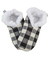 Hatley Women's Cozy Warm Slippers Charcoal Plaid