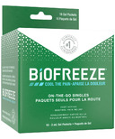 BioFreeze Fast Acting Menthol Pain Relief On-The-Go Singles