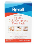 Rexall Instant Cold Compress Twin Pack