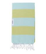 Lualoha Turkish Towel Buddhaful Light Mint & Lemon