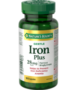 Nature's Bounty Gentle Iron Plus