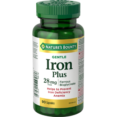 Nature\'s Bounty Gentle Iron Plus