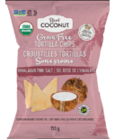 The Real Coconut Grain Free Tortilla Chips Himalayan Pink Salt