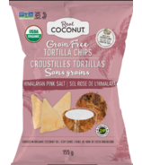 The Real Coconut Grain Free Tortilla Chips Himalayan Pink Salt