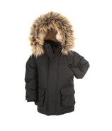 Appaman Black Denali Down Coat