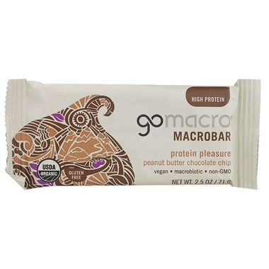 GoMacro MacroBar Peanut Butter + Chocolate Chip