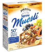 Jordans Supreme Muesli Cereal