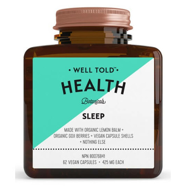 Well Told Health Sleep