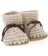 Beba Bean Ivory Sweater Moccs