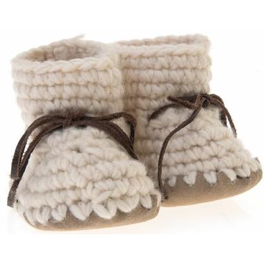 Beba Bean Ivory Sweater Moccs