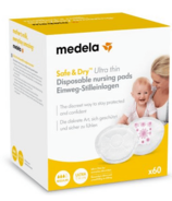 Medela Safe & Dry Ultra Thin Disposable Nursing Pads Medium Pack