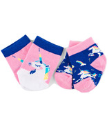 Hatley Little Blue House Baby Socks Rainbows & Unicorns