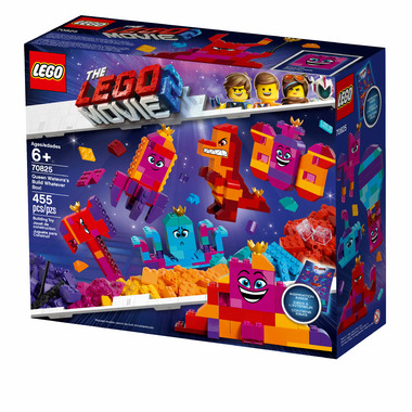 LEGO The LEGO Movie 2 Queen Watevra\'s Buld Whatever Box!