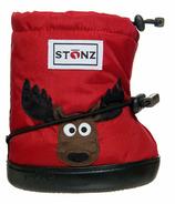 Stonz Red Moose Toddler Booties