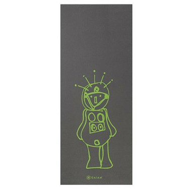 Gaiam Kids Printed Yoga Mat Roboto