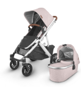 UPPAbaby VISTA V2 Stroller Alice Dusty Pink Silver Saddle Leather