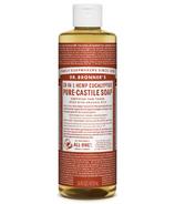 Dr. Bronner's Organic Pure Castile Liquid Soap Eucalyptus 16 Oz