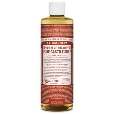 Dr. Bronner\'s Organic Pure Castile Liquid Soap Eucalyptus 16 Oz