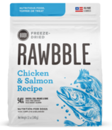 BIXBI Rawbble Freeze-Dried Dog Food Chicken & Salmon