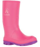 Kamik Stomp Pink Rainboots